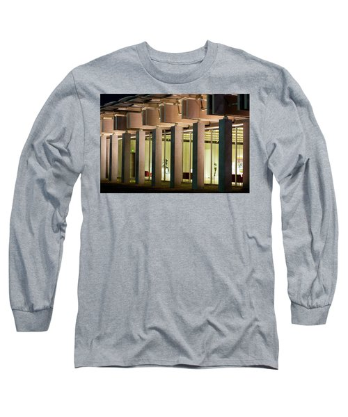 Renzo Piano Building Kimball Museum Long Sleeve T-Shirt