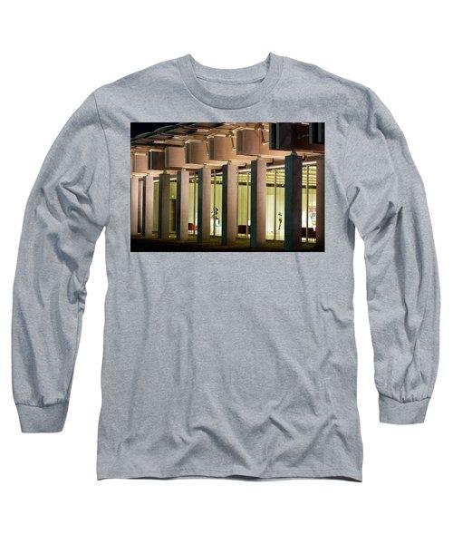 Renzo Piano Building Kimball Museum Long Sleeve T-Shirt