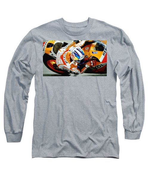 Repsol Honda Long Sleeve T-Shirt by Bill Stephens