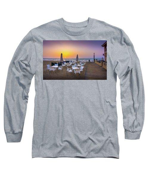 Restaurant Sunrise, Spain. Long Sleeve T-Shirt