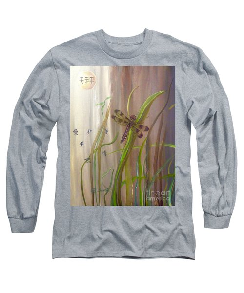 Restoration Of The Balance In Nature Cropped Long Sleeve T-Shirt