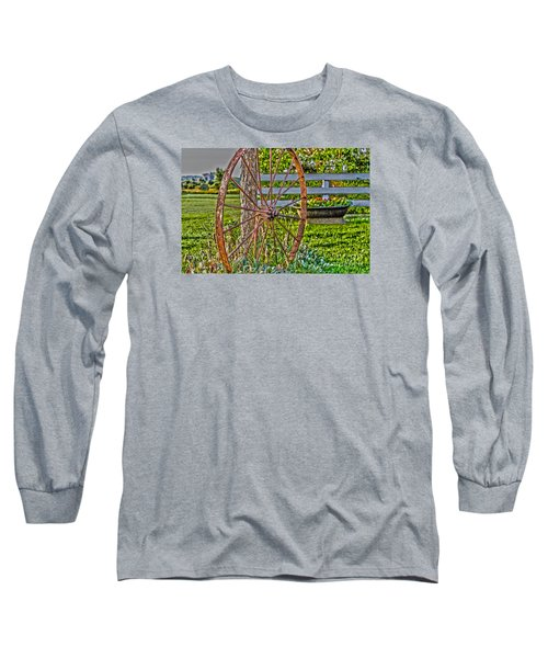 Retired Long Sleeve T-Shirt by William Norton
