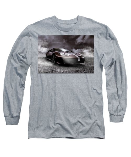 Retro Sports Car - Formule 1 Long Sleeve T-Shirt