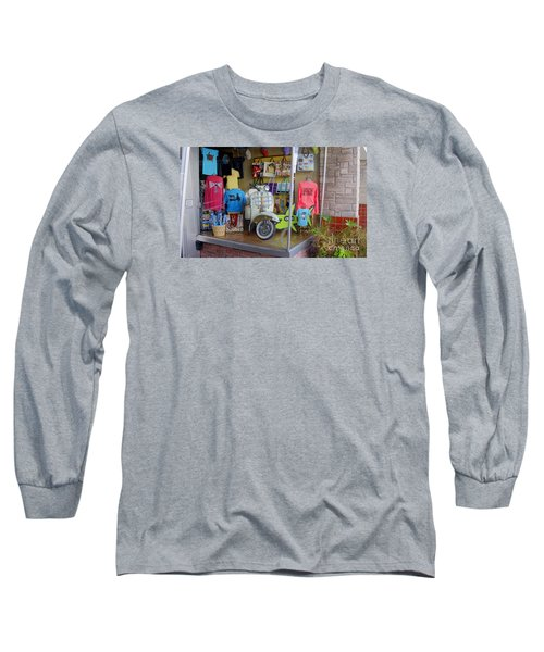 Retro Storefront Long Sleeve T-Shirt