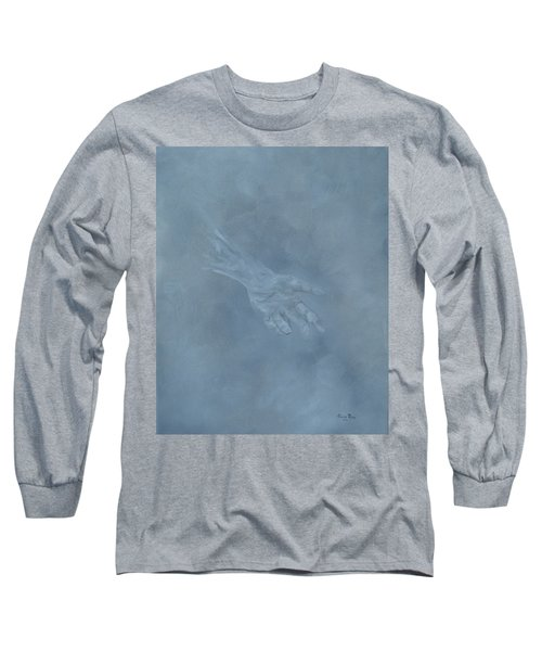 Long Sleeve T-Shirt featuring the painting Return To Dust by Judith Rhue