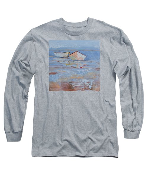 Returning Tides Long Sleeve T-Shirt by Trina Teele