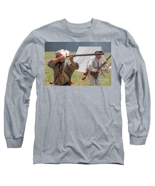 Revolutionary War Reenactment Long Sleeve T-Shirt