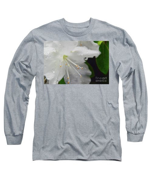 Rhododendron Blossom Long Sleeve T-Shirt