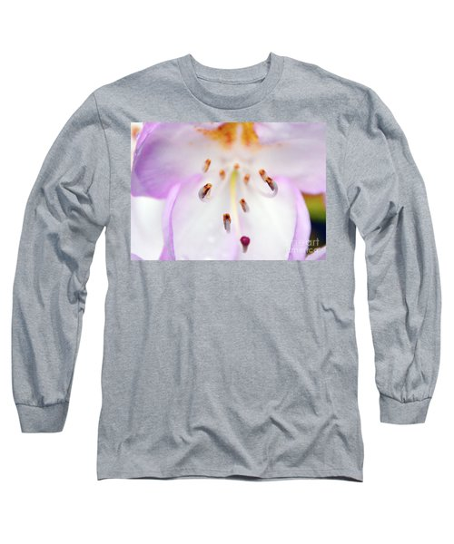 Rhododendron Blossom Too Long Sleeve T-Shirt