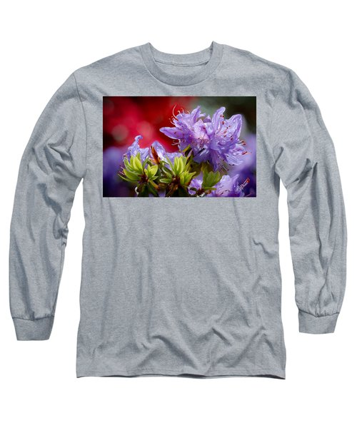 Rhododendron Bluebird Long Sleeve T-Shirt