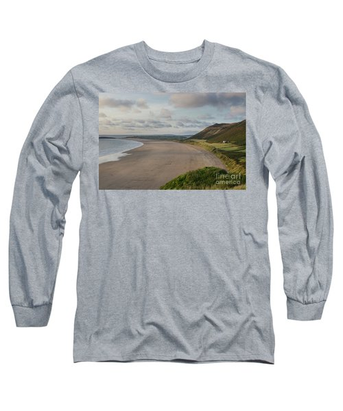 Rhossili Bay, South Wales Long Sleeve T-Shirt