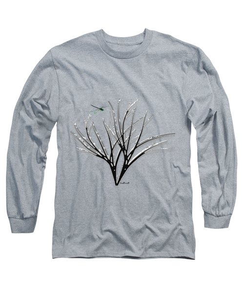 Ribbon Grass Long Sleeve T-Shirt by Asok Mukhopadhyay