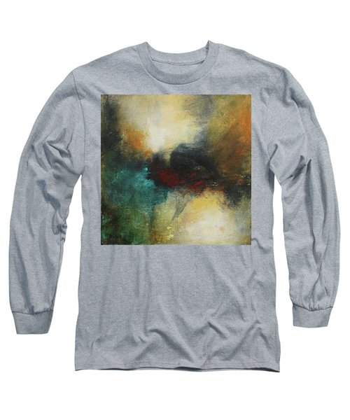 Rich Tones Abstract Painting Long Sleeve T-Shirt