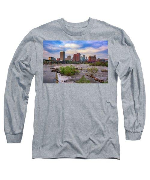 Long Sleeve T-Shirt featuring the photograph Richmond Skyline by Rick Berk