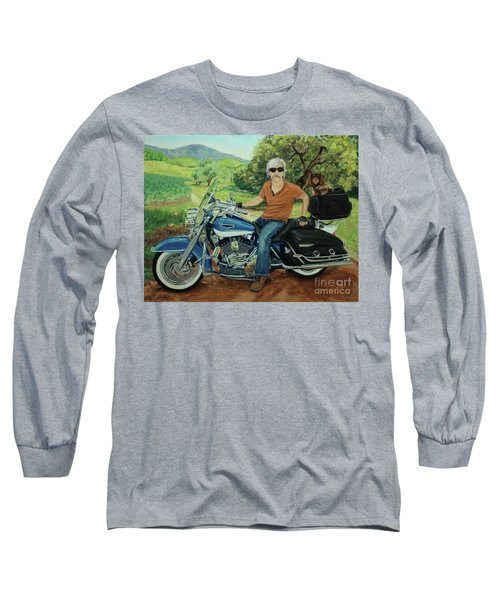 Ride In The Birksire's Long Sleeve T-Shirt