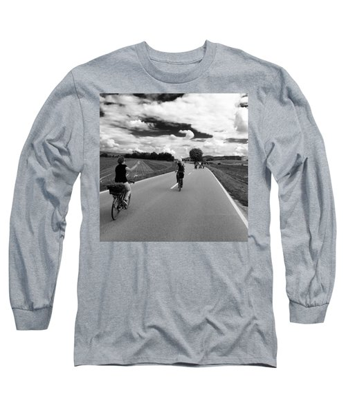 Ride My Bicycle Long Sleeve T-Shirt