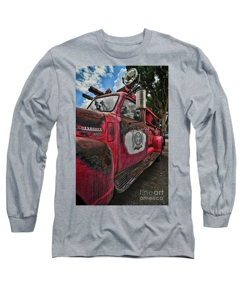Ridgway Fire Truck Long Sleeve T-Shirt