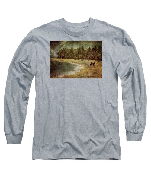 Riding On The Beach Long Sleeve T-Shirt