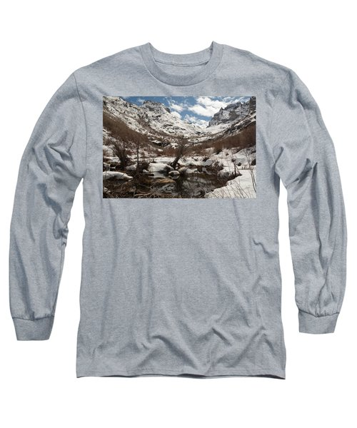 Long Sleeve T-Shirt featuring the photograph Right Fork Canyon by Jenessa Rahn