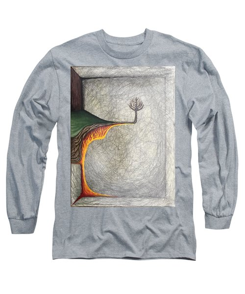 Right Universe Long Sleeve T-Shirt by Steve  Hester