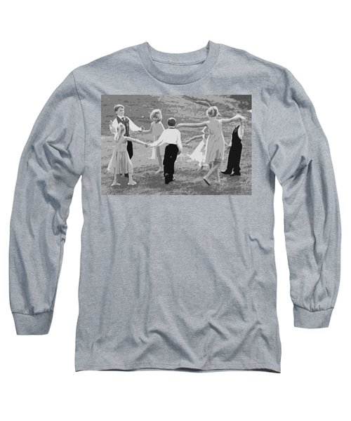 Long Sleeve T-Shirt featuring the photograph Ring Around The Rosy by Colleen Coccia