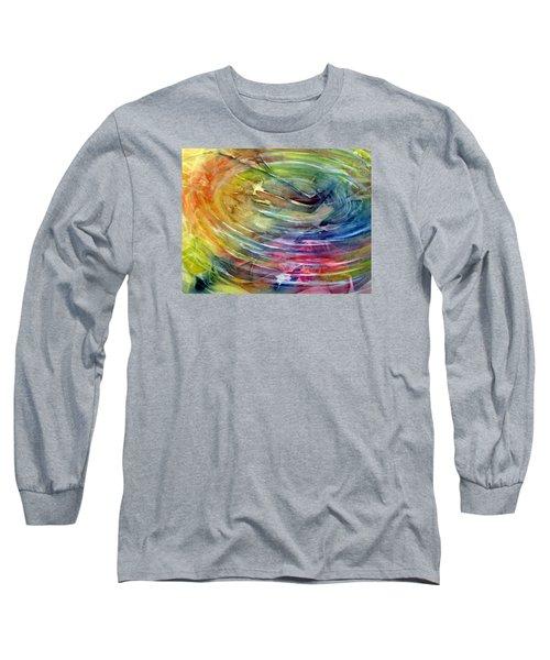 Ripples Long Sleeve T-Shirt by Allison Ashton