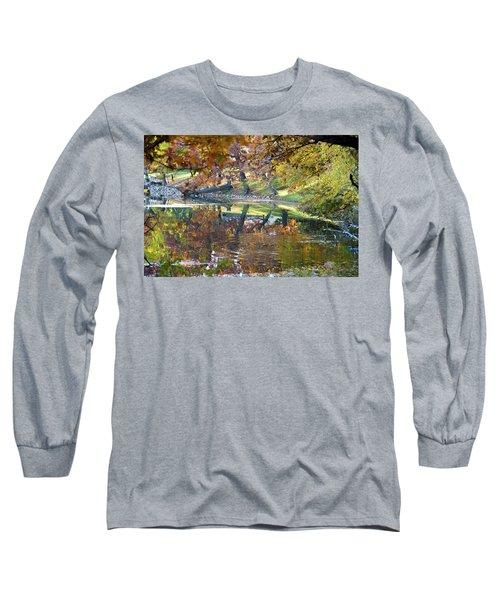 Ripples In An Autumn Lake Long Sleeve T-Shirt