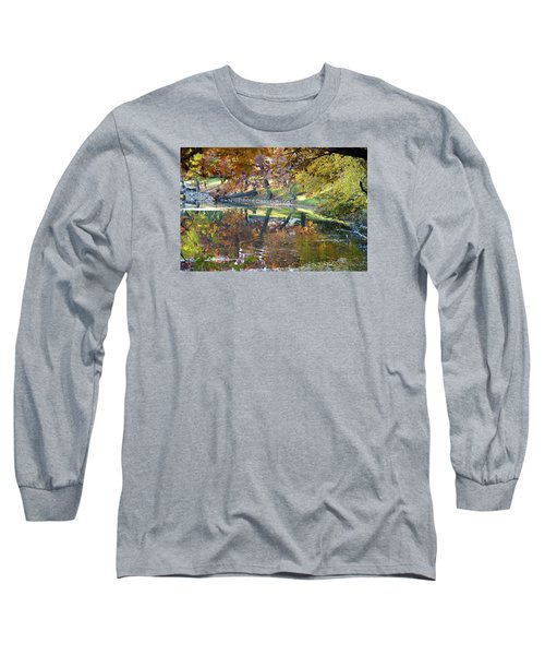 Ripples In An Autumn Lake Long Sleeve T-Shirt