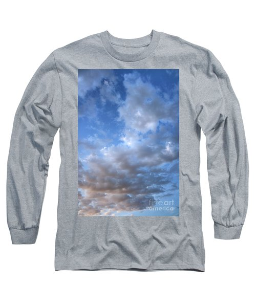 Long Sleeve T-Shirt featuring the photograph Rising Clouds by Michael Rock