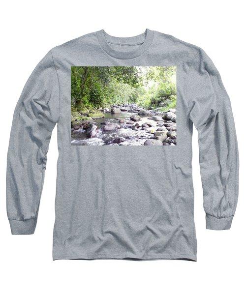 River In Adjuntas Long Sleeve T-Shirt