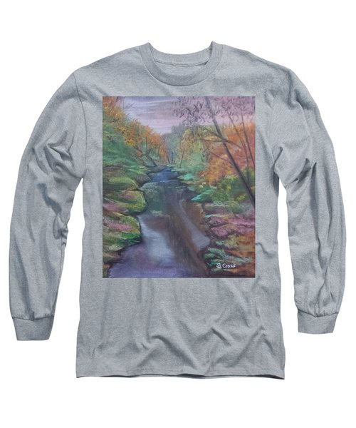 River In The Fall Long Sleeve T-Shirt