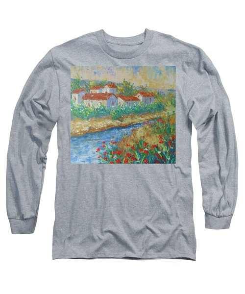 River Of Provence Long Sleeve T-Shirt