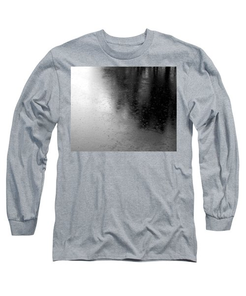 River Rain  Naperville Illinois Long Sleeve T-Shirt
