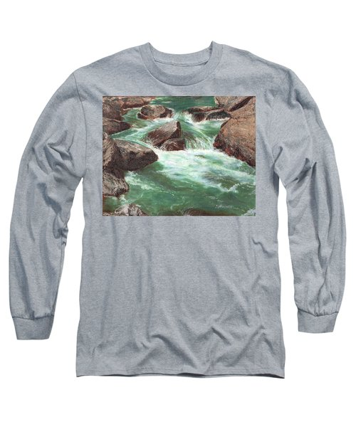 River Rocks Long Sleeve T-Shirt