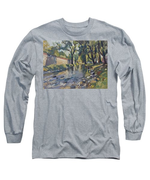 Riverjeker In The Maastricht City Park Long Sleeve T-Shirt