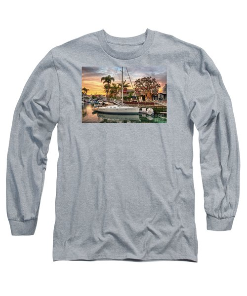 Rivo Alto Canal And Naples Canals Long Sleeve T-Shirt