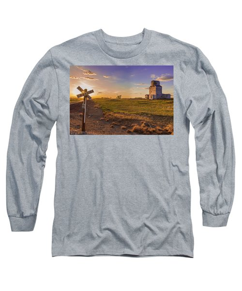 End Of The Day On The Montana Hi Line Long Sleeve T-Shirt