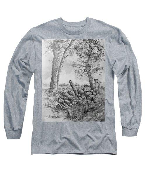 Road Home Long Sleeve T-Shirt by Jim Hubbard