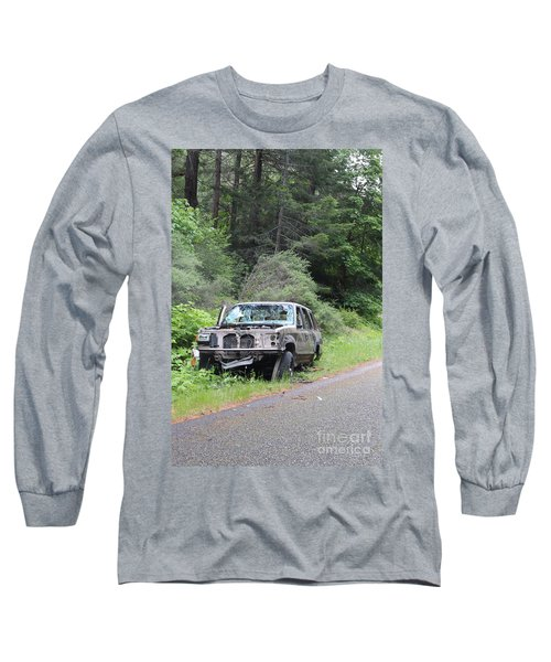 Long Sleeve T-Shirt featuring the photograph Road Kill by Marie Neder