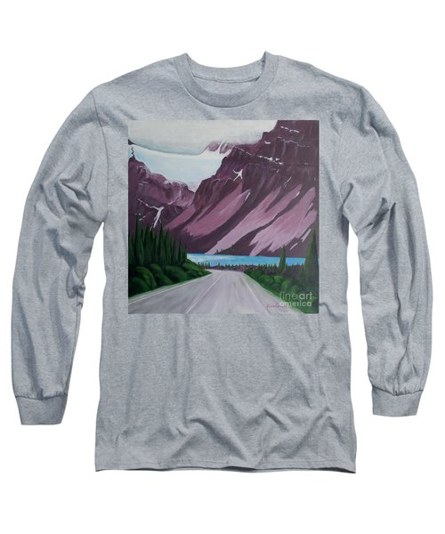 Road To Banff Long Sleeve T-Shirt