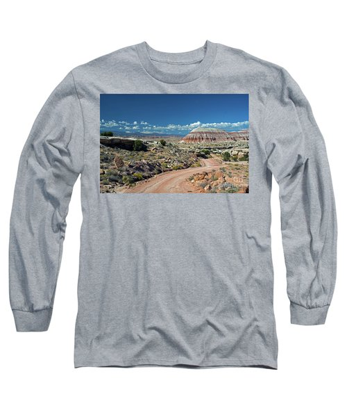 Road To Cathedral Valley Long Sleeve T-Shirt