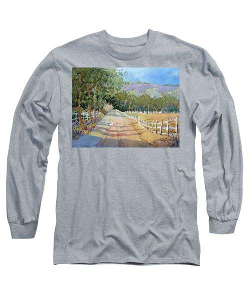 Road To The Vineyard Long Sleeve T-Shirt