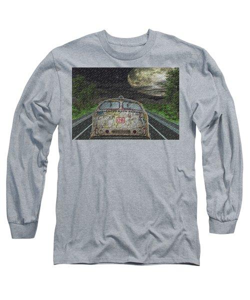Road Trip In The Rain Long Sleeve T-Shirt