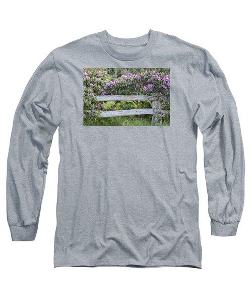 Roan Mountain Azaleas Long Sleeve T-Shirt
