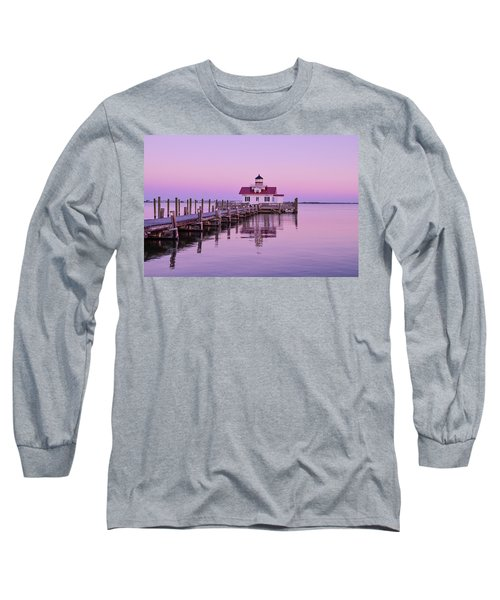 Roanoke Marshes Lighthouse  Long Sleeve T-Shirt