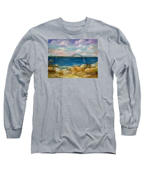 Robert Moses Bridge Long Sleeve T-Shirt