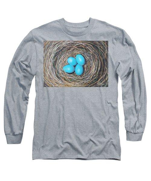 Robin's Eggs Long Sleeve T-Shirt