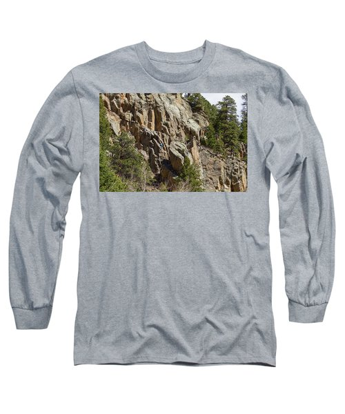 Long Sleeve T-Shirt featuring the photograph Rock Climbers Paradise by James BO Insogna