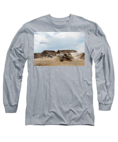 Rock Crushing Long Sleeve T-Shirt