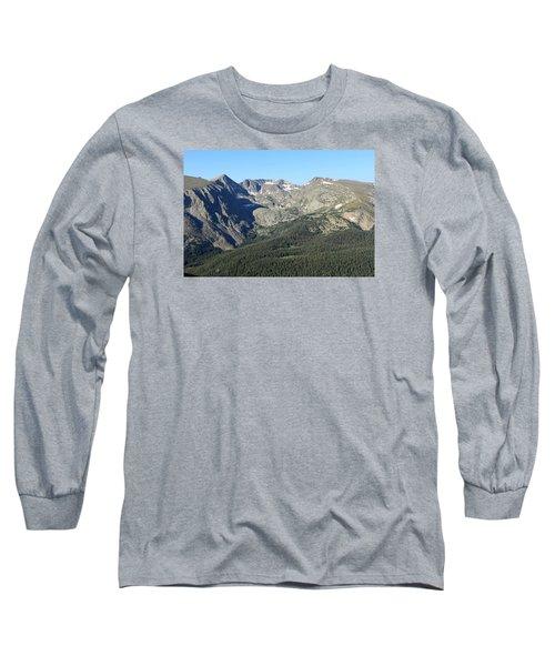 Rock Cut - Rocky Mountain National Park Long Sleeve T-Shirt by Pamela Critchlow